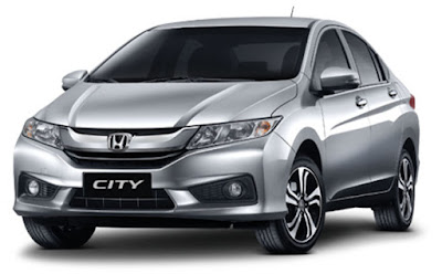 Honda City facelift version side image