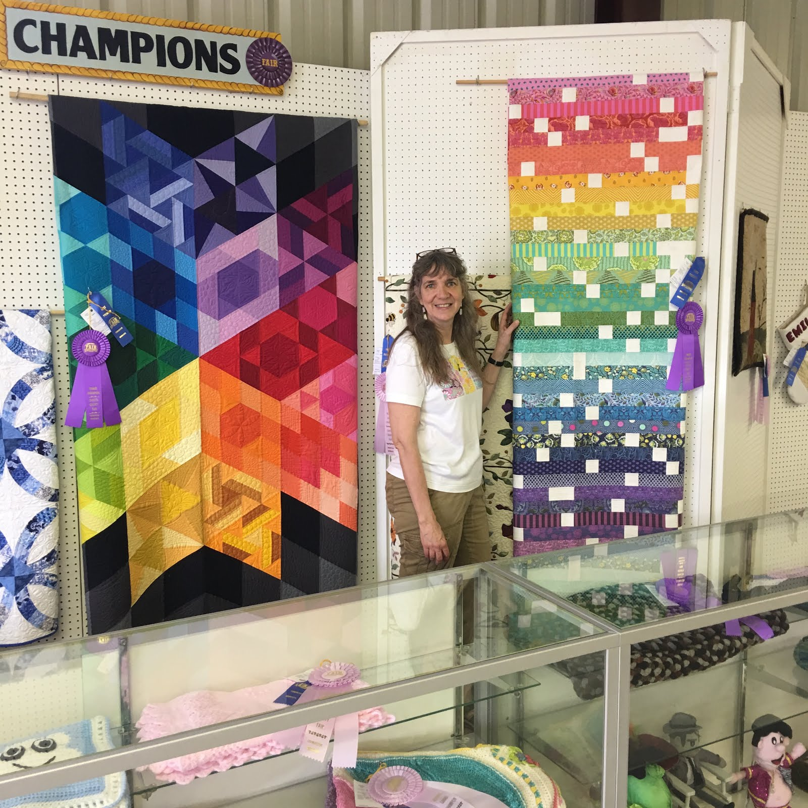 Grace and Peace Quilting: County 🎡 Fair Recap 2019
