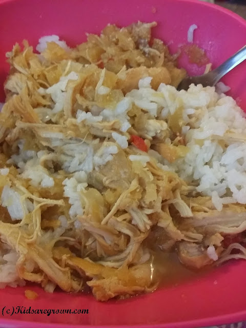 Pineapple Chicken and Rice Bowl
