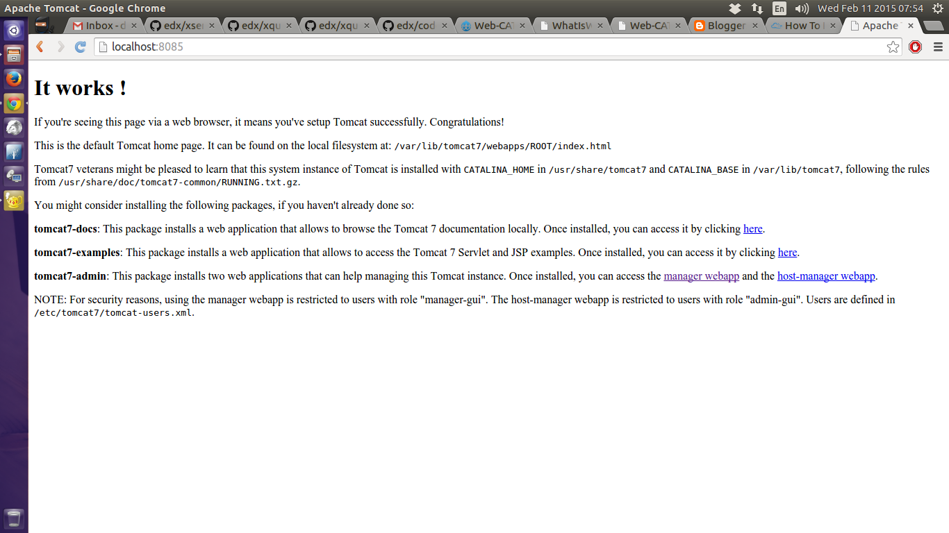 localhost 8080 adminweb web