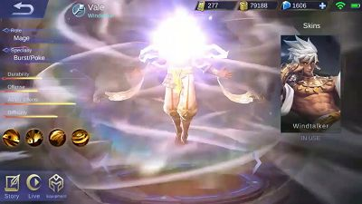 Hero Vale Mobile Legend, saudaranya Valir Nih