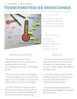 Ideas para trabajar en tutoría. Ideas originales para trabajar en clase. Educación emocional en secundaria y primaria.