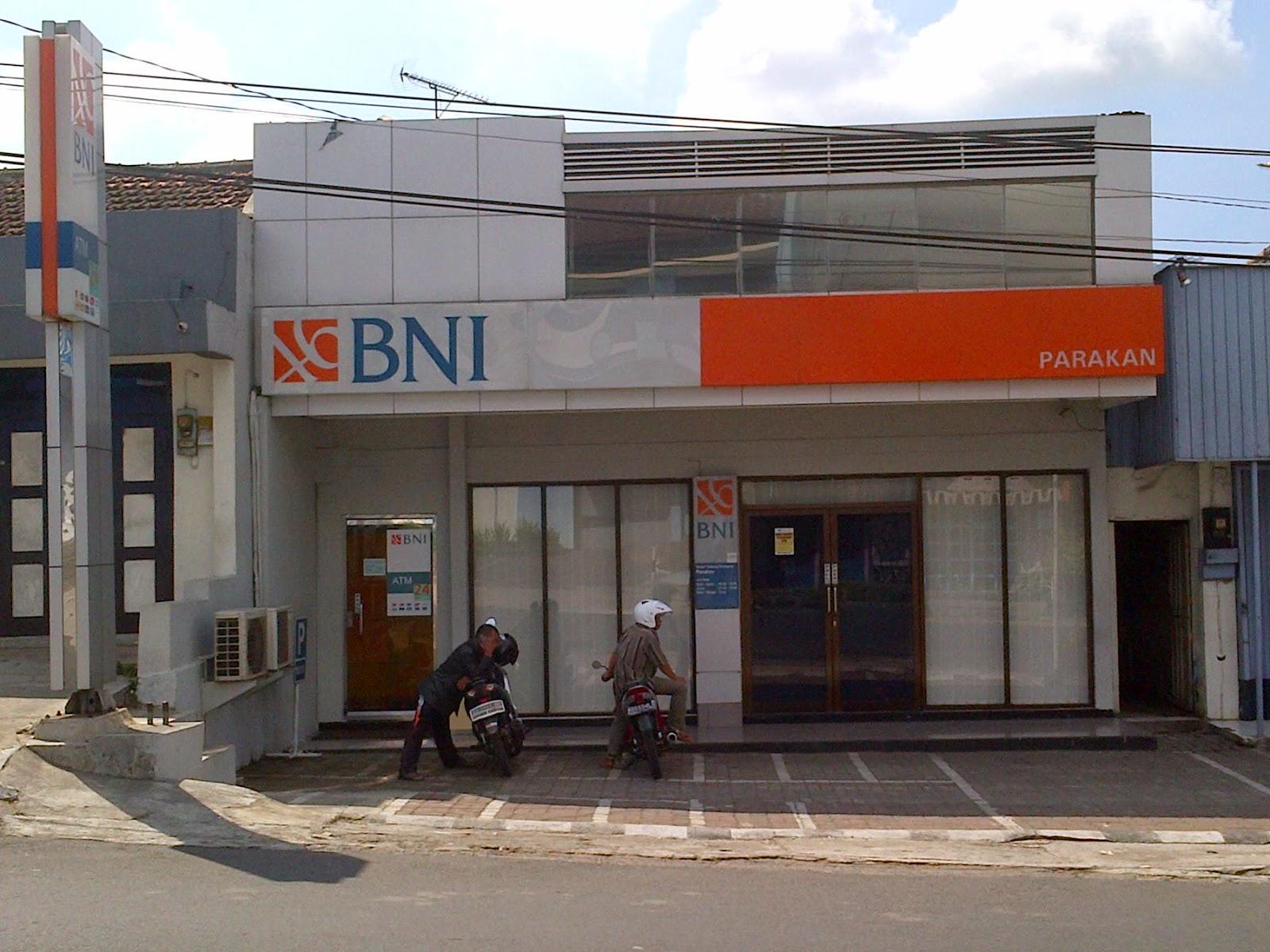 Kantor Bank BNI Cabang Parakan ~ Menoreh Post