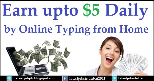 Earn Money Online without Investment by Typing