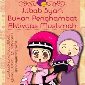 Gambar DP BBM Jilbab/ Hijab itu bukan penghambat akitfitas