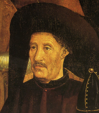 A contemporary likeness of Prince Henry the Navigator, probably by the Portuguese court painter  Nuno Gonçalves (around 1470)