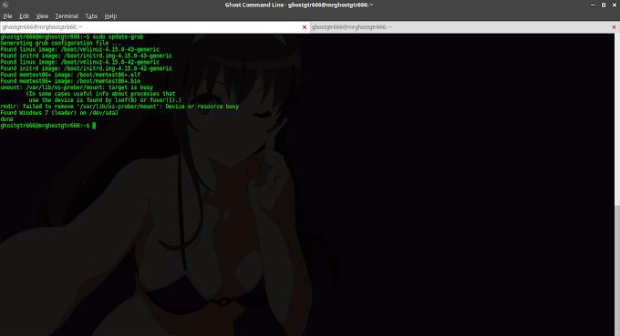 Mengatasi Boot Umount: /var/lib/os-prober/mount : target is busy di GNU/Linux