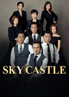 The satirical comedy takes place in a four SKY Castle  SKY Castle (2018)