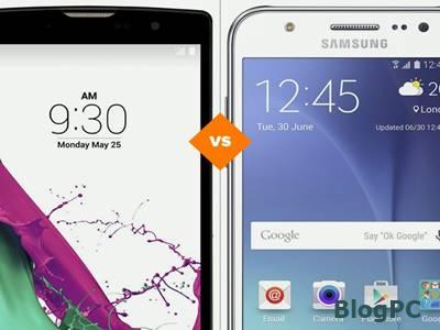 LG G4 Beat ou Galaxy J5: celulares têm preço médio de R$ 1.000