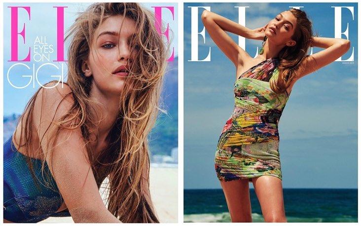 Gigi Hadid - Elle Magazine March 2019