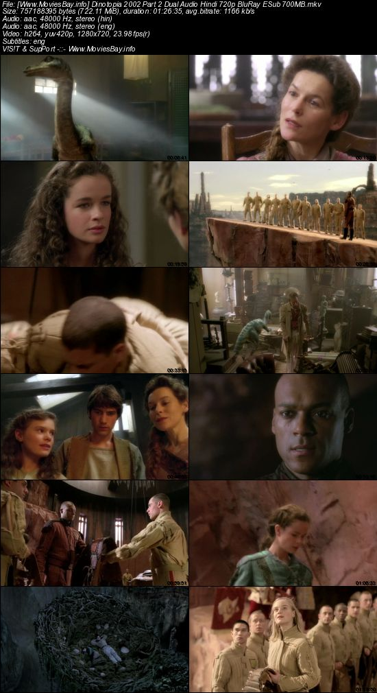 Dinotopia 2002 Part 2 Dual Audio Hindi 720p BluRay ESub 700MB