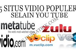 5 Situs Vidio Paling Populer Selain You Tube Di Seluruh Dunia