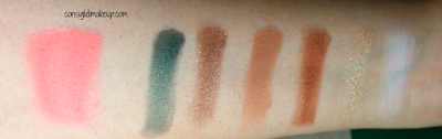 Swatches e Prime Impressioni Too Faced Grand Hotel eggnog latte palette