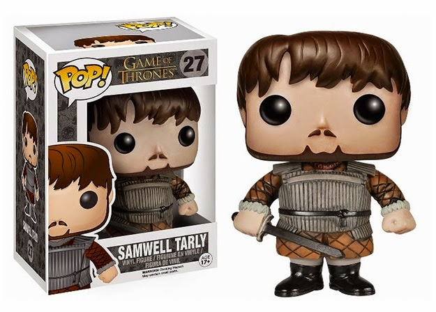 Boneco Funko Game of Thrones Samwell Tarly
