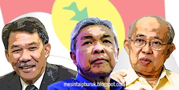 Presiden UMNO... Antara Zahid, Tok Mat dan Ku Li