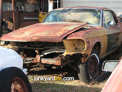 The rough, gold, pony car has been off the road for decades.
