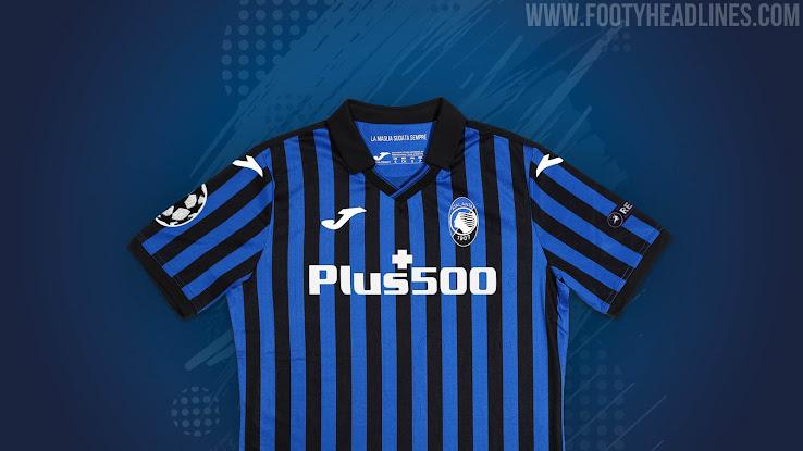 Atalanta 20 21 Champions League Kit Revealed Footy Headlines