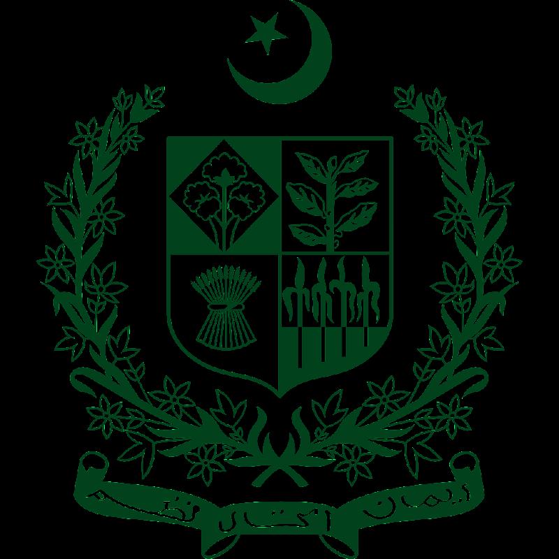 Logo Gambar Lambang Simbol Negara Pakistan PNG JPG ukuran 800 px
