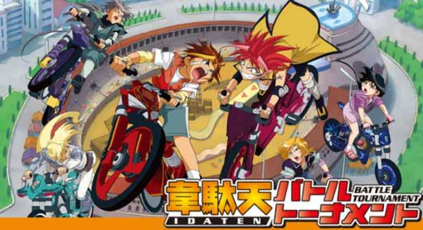 Idaten Jump - Daftar Anime Sport terbaik Sepanjang Masa
