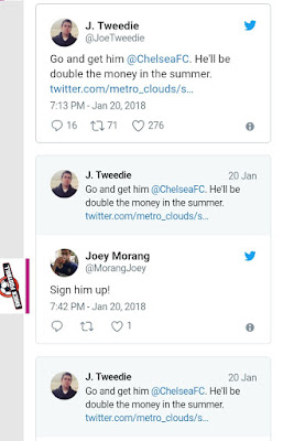 Please sign him rather than Mahrez... Chelsea  fans tell Abramovich