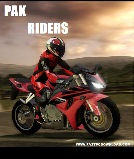 Pak Riders Game cover