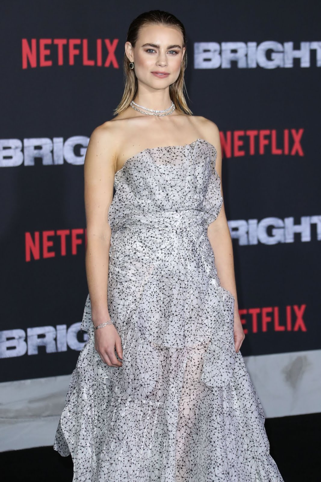 HD Wallpapers & Photos of Lucy Fry at Bright Premiere in Los Angeles