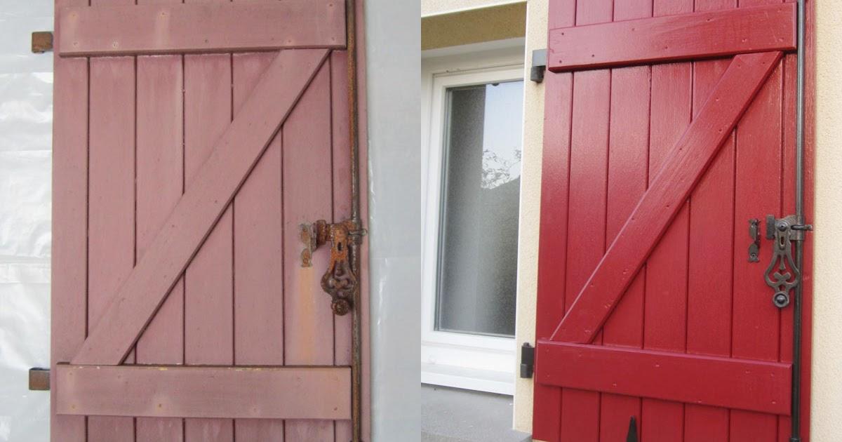 Repeindre Des Volets Bois ~ Au 303 Home Deco