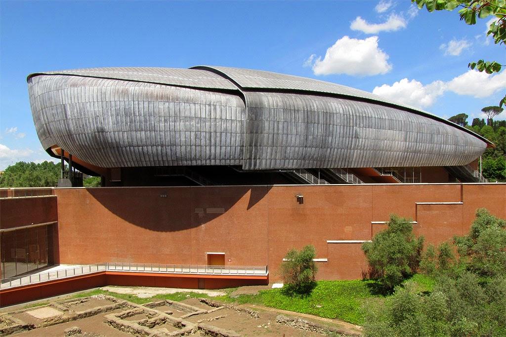 Daily photo stream sala santa cecilia for Auditorium parco della musica sala santa cecilia