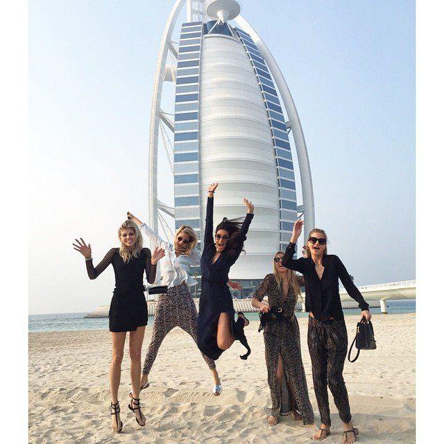 شاطئ مبرد للسيدات في دبي