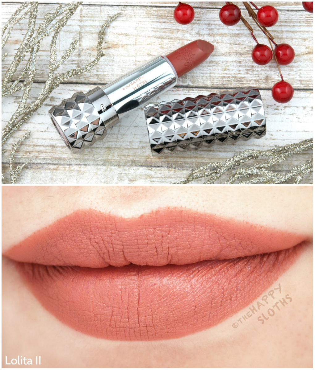 Kat Von D Studded Kiss Lipstick Lolita II: Review and Swatches