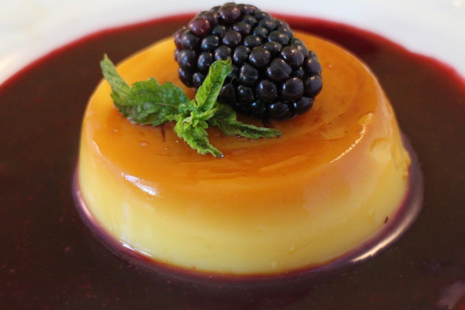 baileys-custard, flan-de-baileys, sopa-de-moras, blackberry-soup