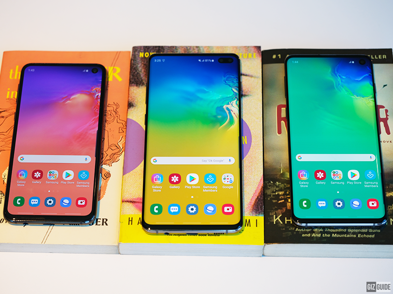 Samsung Galaxy S10, S10+ and S10e First Impressions