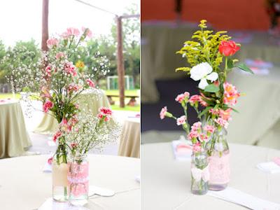 Centro de mesa, decoração romântica para Noivado!