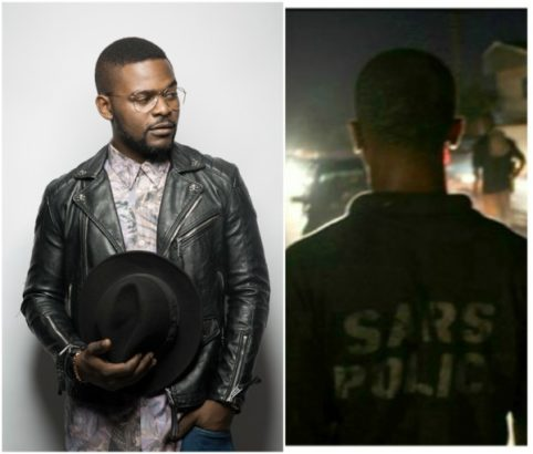 So Appalling: Falz Harrased and his manager slapped by SARS officials...[read & Watch the video]