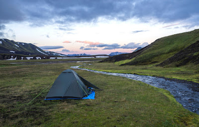 Iceland has many beautiful campsites like Strutur, which are perfect for camping