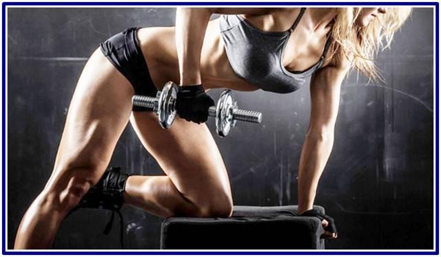 Rutina de ejercicios con pesas para mujeres de todos los niveles