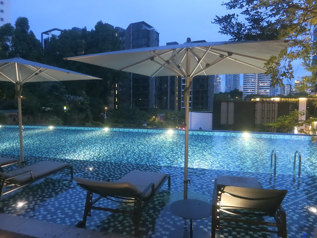 Novotel Singapore on Stevens - swimming pool