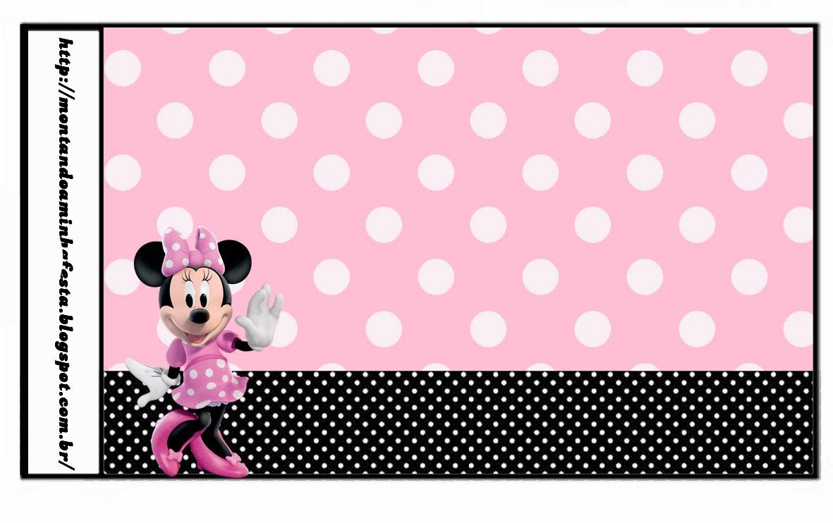 Minnie Rosa: Etiquetas para Candy Bar, para Imprimir Gratis. | Ideas ...