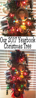 Look back on your year every time you enjoy your Christmas tree with this fun family tradition. Find or make a Christmas Ornament for each of your year memories and you'll remember the great memories every Christmas. #christmastree #ornament #christmasdecor #diypartymomblog