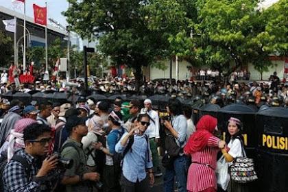 Aksi 22 Mei Diberi Waktu Sampai Tarawih, Dilarang Nginep
