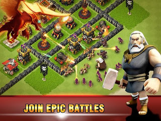 Era of War Clash of epic Clans Apk v2.4 Mod4