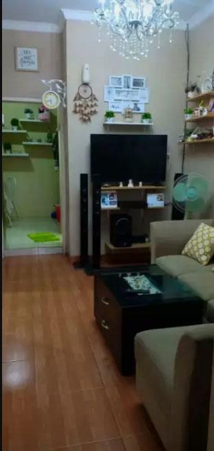 Ruang Tamu (Living Room) - Jual Over Kredit Rumah Minimalis di Rajeg, Tangerang