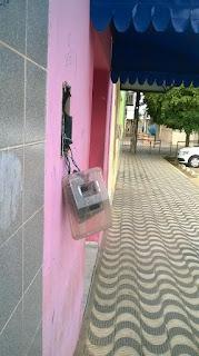 Vândalos promovem barulho e quebradeira durante a madrugada em Cuité