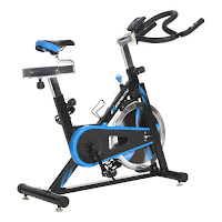 Exerpeutic LX7 Indoor Cycle Trainer, with 40 lb flywheel, chain drive system