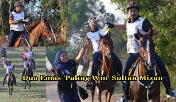 Dua Emas 'Paling Win' Sultan Mizan