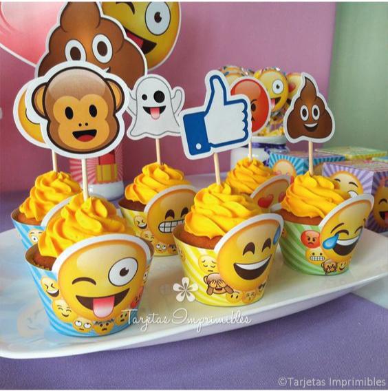 Fiesta hermosa ideas divertidas para cumplea os de emoji - Ideas divertidas para fiestas ...