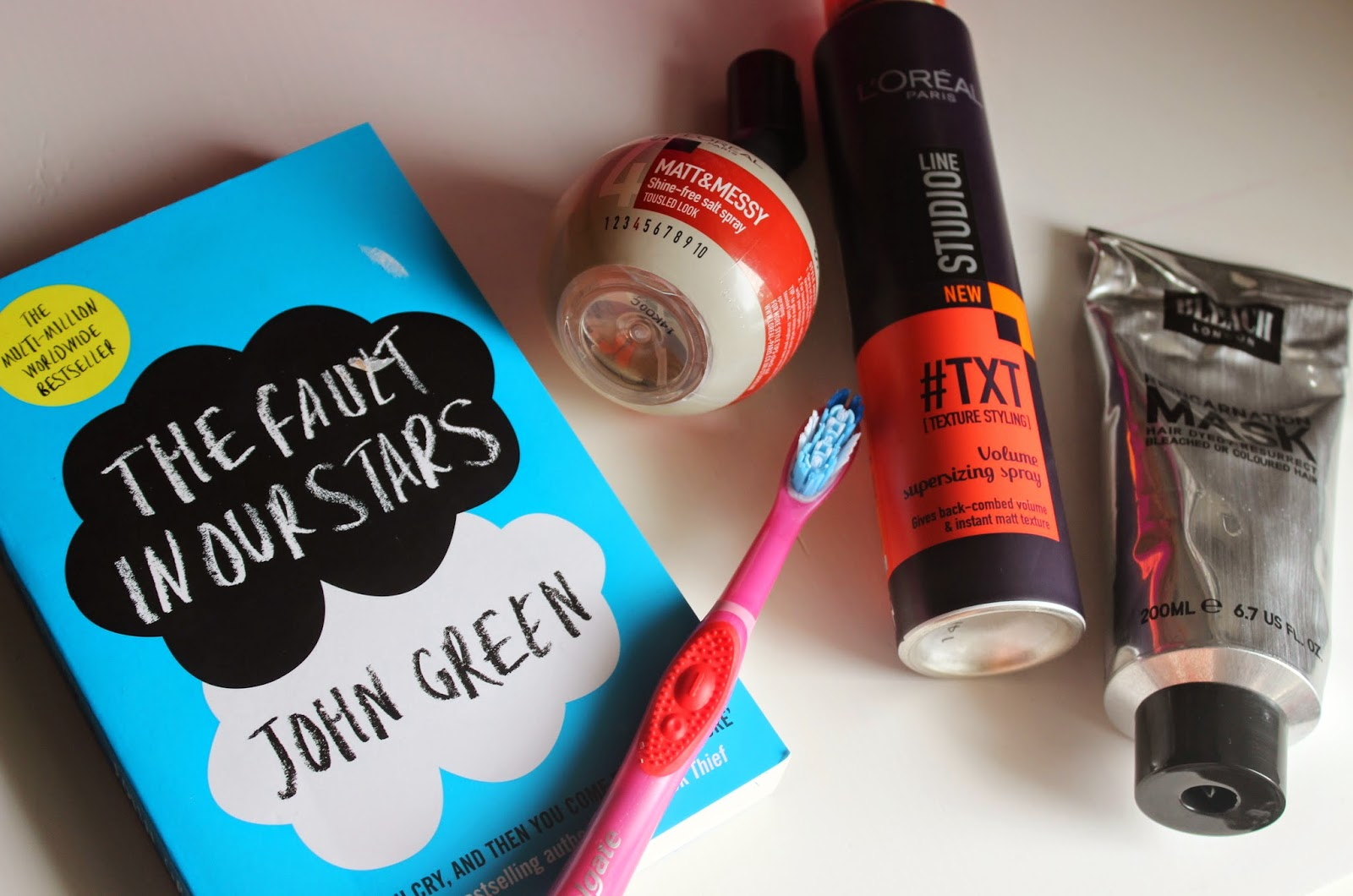 MINI HAUL FEATURING THE FAULT IN OUR STARS BOOK