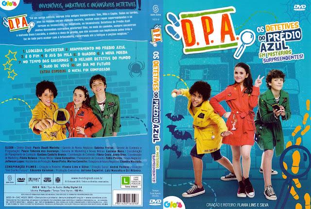 Capa DVD Os Detetives Do Prédio Azul - Em Mistérios Surpreendentes