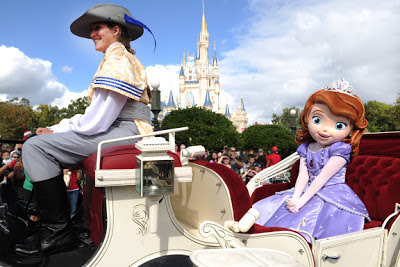 Sofia the First to debut at Disney Parks.
