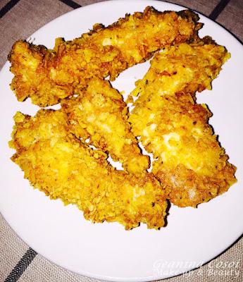 Pollo crujiente con Doritos - Receta